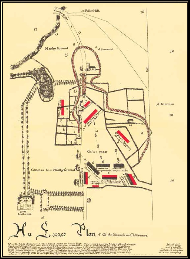 cg-Clifton-Moor-skirmish-plan Oak Hill House Plan on latimer house, hamilton house, oakland house, mexico beach house, salem house, poplar forest house, homestead house, jefferson house, daytona beach house, carter's grove house, cameron house, hudson house, tarrytown house, madison house, west virginia house, mcfarland house, nashville house, caldwell house, seminole house, franklin house,